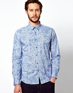 Merc Shirt with Paisley Print from Asos