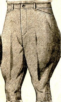 Roughwear Breeches 1928