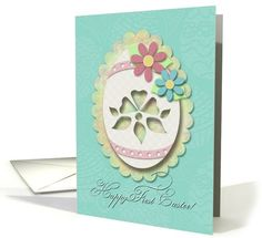 Happy First Easter Egg, Scrapbook Style,... | Greeting Card Universe