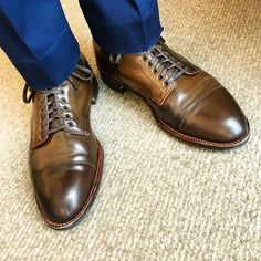 2018/04/15 05:40:43 jso1shoes Yes, these are Ravello. #brownvello Shell Cap Toe Boot x @aldenshoeco #aldenarmy #aldenshoes #horween #shellcordovan #オールデン #boots #shoes #wiwt #ootd #menswear #mensfashion #mensshoes #jcrew @jcrewmens