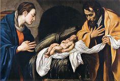 Natività. Luis Tristan (1585-1624). Monastero delle Clarisse dell'Immacolata e di San Pascual