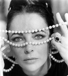 """Elizabeth Taylor - """"I adore wearing gems, but not because they are mine. You can't possess radiance, you can only admire it."""""""