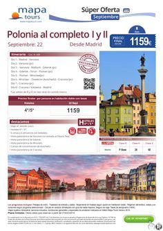 Polonia desde Madrid 22 Septiembre**Precio Final desde 1159** ultimo minuto - http://zocotours.com/polonia-desde-madrid-22-septiembreprecio-final-desde-1159-ultimo-minuto/