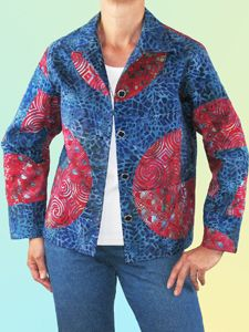 Quarter Circle Pieced Jacket Pattern by Brensan Studios