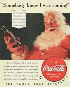 Coca-Cola Christmas 1940