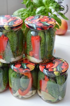 Martha Stewart, Fresh Rolls, Vinegar, Pickles, Mason Jars, Ethnic Recipes, Food, Meal, Essen