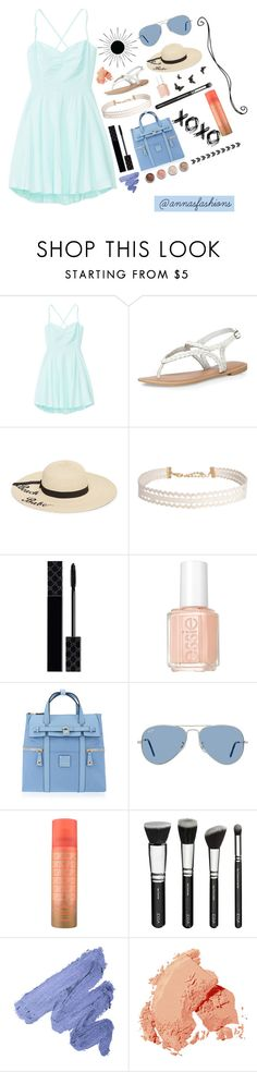 """""""And it feels like I'm drowning Pulling against the stream"""" by annasfashions ❤ liked on Polyvore featuring Talula, Dorothy Perkins, Betsey Johnson, Humble Chic, Terre Mère, Gucci, Essie, Disney, Henri Bendel and Ray-Ban"""