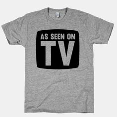 As Seen On TV #tv #logo #funny #infomercial #famous #actor #cool