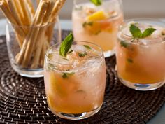 Grapefruit Mojito Mocktails