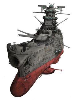 Space Warfare, Starship Concept, Star Blazers, Space Battles, Spaceship Design, Sci Fi Ships, Naval History, Cartoon Tv, Cinema