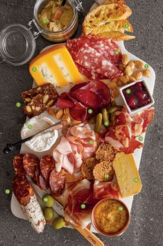 Create a beautiful charcuterie spread for Valentine's Day to nosh and nibble the evening away. Simply pick and choose items to fit your taste, pair with wine or your favorite brew and enjoy! Here are our favorites: http://bit.ly/2DW0aWa