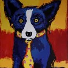 Blue Dog, Art by James Rodrigue, New Orleans