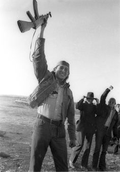 This image of Robert Onco and his rifle from the Wounded Knee occupation in 1973 became famous after it was put on an American Indian Movement poster. (AP Photo)
