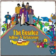 Vandor 64646 The Beatles Yellow Submarine Album Cover Heavy Gauge Metal Sign, Multicolored by Vandor. $14.24. Perfect gift for any Beatles fan. Shrink wrapped with j-hook for easy display. Great for dorm room, rec room or media room. Authentic album cover reproduction. Saw tooth hangers on back for easy mounting. For more than 50-year, Vandor has created hip and functional products for fans of all ages. We pride ourselves on setting new standards in the design and market...