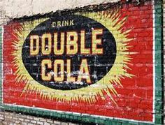 Drink Double cola ghost sign in Birmingham, Alabama, USA Building Signs, Building Art, Advertising Signs, Vintage Advertisements, Vintage Walls, Vintage Signs, Painted Signs, Hand Painted, Sweet Home Alabama