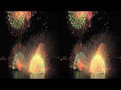 Hyper Stereo - 'Kiss of Fire' in Suwa Lake Fireworks Festival, 1st Sep. 2012