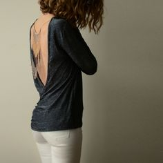 Pattern for reversible jersey top