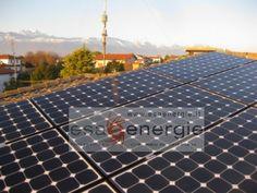 Impianto fotovoltaico in provincia di Pordenone. www.esaenergie.it