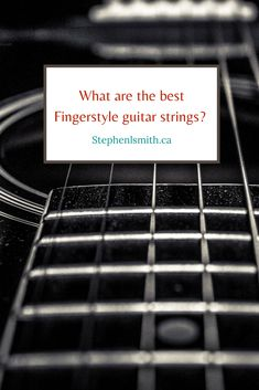 Choose the right strings for your guitar! Fingerstyle guitarists need different strings, so check out this comprehensive guide! Music Guitar, Cool Guitar, Playing Guitar, Acoustic Guitar, Music Songs, Fingerstyle Guitar, Ukulele Tabs, Cool Electric Guitars, Better Music