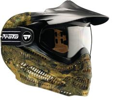 Proto Switch EL Paintball Goggle Mask Woodland Camo: Sports & Outdoors