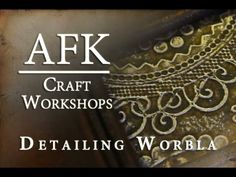 AFK Craft - how to add detail to Worbla Armor tutorial