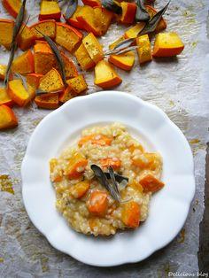 Delicious blog: Dýňové risotto