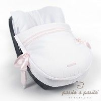 Atelier Universal Carseat Cover - White / Pink