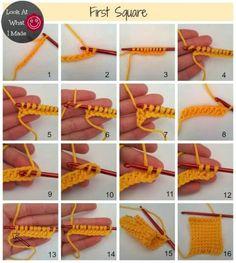 Como fazer colcha de crochê
