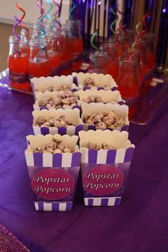 Barbie princess and the popstar Popstar popcorn (bubble gum flavor) from Poparazzi Popcorn in Houston, TX