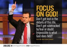Focus on God!