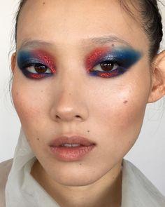 "2,675 Likes, 45 Comments - Marika D'Auteuil (@lapetitevengeance) on Instagram: ""Behind the scenes ! ✨ Makeup by me on @jaeellak Using @makeupforeverca blue aqua xl color paint…"""