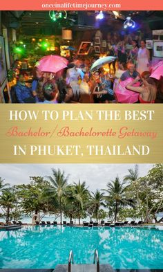 How to organise the best hen or stag getaway to Phuket Thailand Travel Tips, Visit Thailand, Phuket Travel, Best Weekend Getaways, Koh Tao, China Travel, Travel Guides, Travel Advice, Travel Inspiration