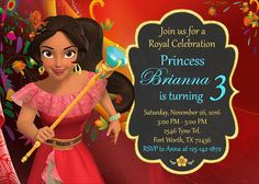 Items similar to Elena Of Avalor Birthday, Elena Of Avalor Party, Elena Of Avalor Decoration, Elena Of Avalor Invitation, Elena Of Avalor Party Supplies on Etsy Happy Birthday Banners, 2nd Birthday, Birthday Parties, Party Kit, Diy Party, Party Ideas, Chocolate Wrapping, Ideas Para Fiestas, Party Signs