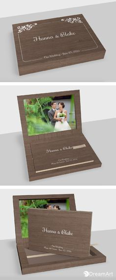DreamArt Photography Luxury Books share this example of a @graphistudio Young Book. Special Thanks to Hanna & Blake! #DreamArtPhotography #DreamArtWedding #WeddingBook #GraphiStudio #YoungBook - Book Size 30x 20 cm. 30 Thick pages. Ribbon Light Hazel. Box Maple Moka.