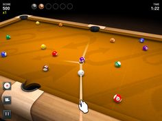3D Pool Game by EivaaGames for iPhone and Android.