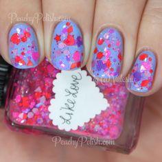 Brand: Lynnderella // Collection: ValenTime (2015) // Color: Like Love // Blog: Peachy Polish