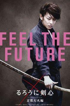 Feel The Future. Takeru Sato as Kenshin Himura. Rurouni Kenshin: The Legend Ends. Third live action.