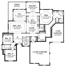 Dream house...just make bedrooms 2 & 3, and bathroom a little bigger