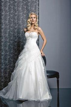 journal des femmes robe de mariée balanquin de tati mariage robe de ...