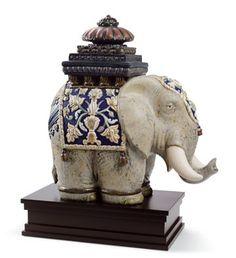 LLADRÓ SIAMESE ELEPHANT