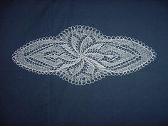 Slovak lace doily