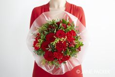 """""""Strawberry"""" bouquet from the Jane Packer Online Collection - Summer Fruits 2016"""