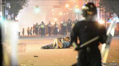 Vancouver Riots Kiss