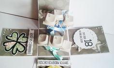 Papierowe Czary Mary: Exploding box na 18 dla informatyka
