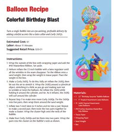 Colorful Birthday Blast Balloon Bouquet