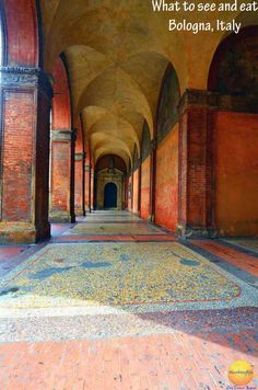 Bologna Italy: Rough guide to the Red, Fat & Wise - How to spend 3 days in Bologna. What to see, do and eat in Bologna #Bologna #Italy