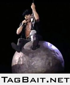 AC/DC did it first, Miley