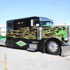 Show Truck Pictures | 18 Wheeler Pictures | Custom 18 Wheeler Trucks