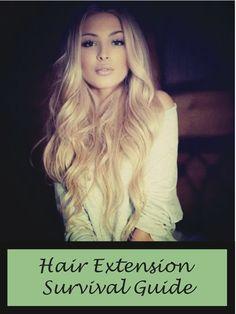 Hair Extension Survival Guide