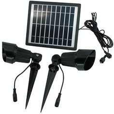 SolarGoesGreen - Super Bright Outdoor Solar Spot Light - This heavy duty fixture is packed with 12 high powered LED bulbs and is made from pro grade cast aluminum. It is fully adjustable and turns on automatically at night. Solar Spot Lights Outdoor, Solar Panel Lights, Best Solar Lights, Solar Panels, Bollard Lighting, Deck Lighting, Sign Lighting, Landscape Lighting, Solar Power Batteries